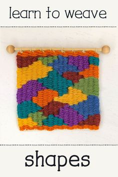 Learn to Weave Shapes 2019 Want to learn to weave? I have a series of tutorials that will get you weaving like a pro! The post Learn to Weave Shapes 2019 appeared first on Weaving ideas. Weaving Textiles, Weaving Art, Weaving Patterns, Tapestry Weaving, Loom Weaving, Stitch Patterns, Knitting Patterns, Yarn Crafts, Fabric Crafts