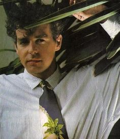 Neil Tennant again. Francis might go grey but he keeps his curls.
