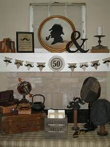 sherlock holmes party decor - Bing images