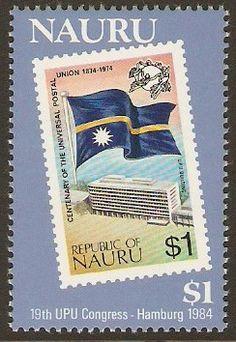 Nauru 1984 UPU Congress Stamp