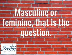 Do you have a hard time knowing the gender of French nouns? Here are patterns you can use to easily find out the gender of a noun.