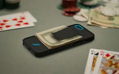 Money-Clipping Phone Cases  http://www.trendhunter.com/trends/multifunctional-iphone-case