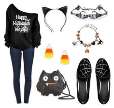 """Halloween Lover!!"" by krusi611 ❤ liked on Polyvore featuring Frame Denim and ASOS"