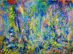 "Saatchi Art Artist Nestor Toro; Painting, ""Abstract - Wild Dreams in Los Angeles"" #art"