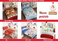 Pościele #świąteczne. Kolorowe wzory zachwycą każdego i będą piękną #dekoracją każdej sypialni.  Tutaj http://swetryswiateczne.pl/pl/