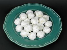 Snowball cookies or Russian Teacakes