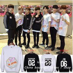 GOT7 jb just right kpop hoodie concert album conjunction Japan around should wear Neck Girl women hoodies sweatshirts #Affiliate