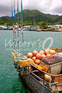 Deep Sea Trader ~ Avarua, Rarotonga, Cook Islands. One of my favorite South Pacific destination; Rarotonga is a gem of beautiful coastline, a rugged interior, fascinating culture, and fleets of colorful fishing boats.