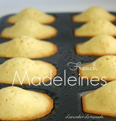 Deceptively Simple French Pastries - French Madeleines by Lavende & Lemonade