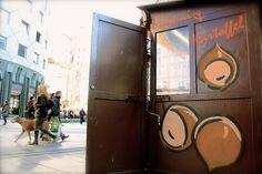 Die Maronistände sind wieder da! | Stadtbekannt Wien | Das Wiener Online Magazin Online Magazine, City, Autumn