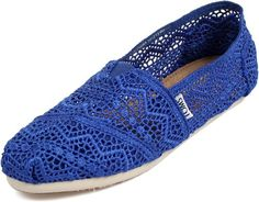 TOMS Womens Crochet Classic Slipon >>> Trust me, this is great! Click