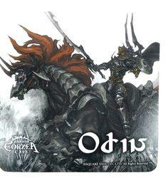 Final Fantasy XIV Primals Odin Coaster Eorzea Cafe Limited Game Square Enix F/S