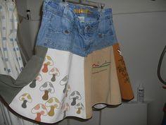 Another cute skirt idea at  KatiesQuiltsandCrafts,