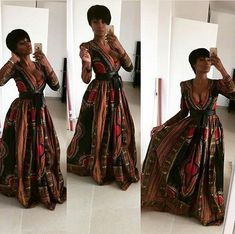 Dashiki Prom Dress, African Clothing, African Fashion, African Party Dress, Dashiki Maxi Dress - Women's style: Patterns of sustainability African Party Dresses, African Wedding Dress, African Print Dresses, African Fashion Dresses, African Prints, African Weddings, Ankara Fashion, African Fabric, Nigerian Weddings