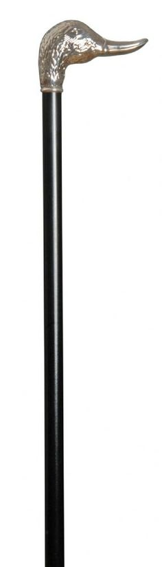 Classic Canes Silver Plated Duck Head Formal Cane 3806 - Classic Canes Duck formal cane silver plated An extremely elegant formal cane suitable for