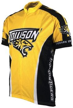 NCAA Men s Adrenaline Promotions Towson Tigers Cycling Jersey 74a003878