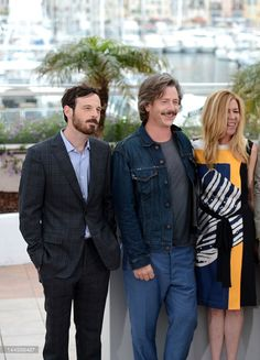 Scoot McNairy, Ben Mendelsohn, Dede Gardner at the KILLING THEM SOFTLY Photocall during the 65th Annual Cannes Film Festival at Palais des Festivals on May 22, 2012 in Cannes, France. (photo Venturelli) - Edited