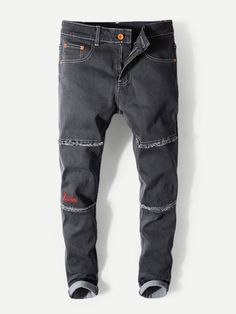 Jumpsuit With Sleeves, Loose Sweater, Denim Men, Embroidery, Styles, Sewing, Jeans, Sweaters, Shirts
