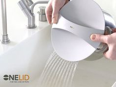 OneLid: Lid with Strainer