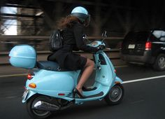 The time of year is upon us when girls all over Europe take to their Scooters, I have spent many a time in an outdoor cafe watching independ...