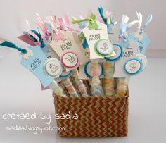 Sadilla's Blog: Caramelline e card per un compleanno!
