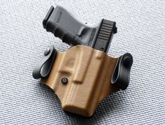 X-Concealment C series Kydex IWB holster for G19 in Coyote Brown