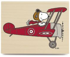 Snoopy Flying High