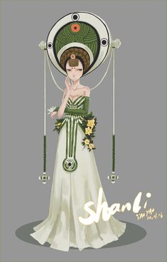 SHANLI 2 by yao yao, via Behance