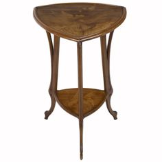Early Emile Galle Furniture Factory | french art nouveau side table by emile gallé offered by ophir gallery ...