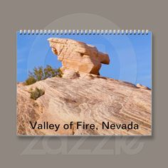 Valley of Fire 2013 Calendar from Zazzle.com starting at $15.34 #deserts #Nevada