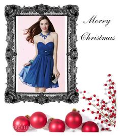 """""""Merry Christmas"""" by dresses-of-findress ❤ liked on Polyvore"""