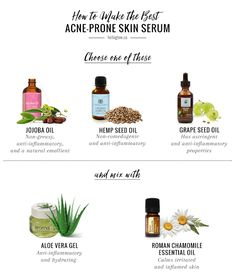 Acne-Fighting Chamomile Face Serum   The Best Oils for Acne | http://helloglow.co/acne-fighting-chamomile-face-serum/