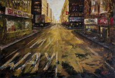 Trabajo en óleo y espátula basado en la canción de un amigo - My Way. Work in oil and spatule based on a friend's song - My Way. HMZEN'16