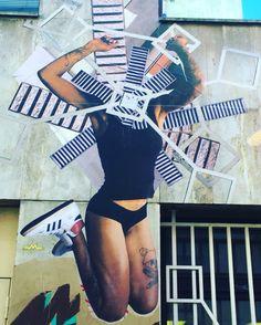 By @annelauremaison #annelauremaison #femmemaison  #streetart #graffiti #graff #spray #bombing #wall #instagraff #streetartist #urbanart #urbanartist  #streetartparis #parisgraffiti #graffitiwall #wallporn #wallpornart #streetarteverywhere #streetphoto #streetartandgraffiti #urbanwalls #graffart  Cité Griset #paris