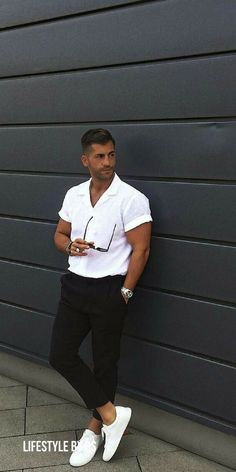 black and white outfit ideas for men