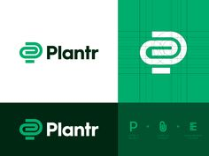 Plantr - Logo Concept 1 designed by Jeroen van Eerden (. Connect with them on Dribbble; the global community for designers and creative professionals. Pop Design, Graphic Design, Modern Logo Design, Design Logo Inspiration, Logo Branding, Branding Design, Typo Logo, Branding Ideas, Eat Logo