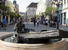 Győr Heart Of Europe, Danube River, Medieval Castle, Central Europe, Budapest Hungary, Beautiful Places To Visit, Croatia, Travelogue, City