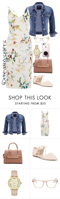 """""""Untitled #224"""" by the-daily-crafts ❤ liked on Polyvore featuring maurices, ALDO, Kate Spade, Yves Saint Laurent and Casetify"""