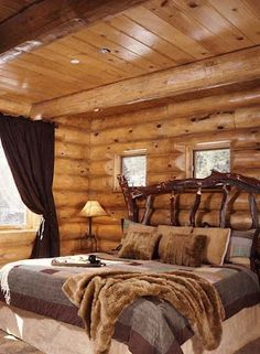 Natural rustic wooden bedroom.Please check out my website thanks. www.photopix.co.nz