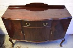 Mahogany Sideboard With Ball And Claw Feet (DELIVERY AVAILABLE) | in West End, Glasgow | Gumtree