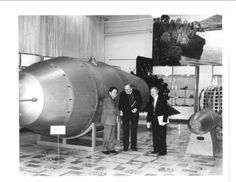 Tsar Bomba, the world's largest ever nuclear weapon.