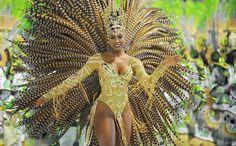 Cris Viana,atriz e Rainha de Bateria da Escola de Samba Imperatriz Leopoldinense .