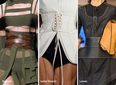Spring/ Summer 2017 Accessory Trends: Corset Belts