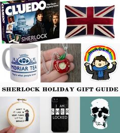 The Ultimate Holiday Gift Guide for #Sherlock Fans Regalos Geeks