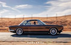 Euro Low: Cole Foster's 1971 E9 BMW 2800 CS — Fuel Tank