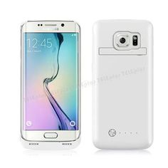 Samsung Galaxy S6 Edge Şarjlı Kılıf 4200mAh Beyaz -  - Price : TL104.90. Buy now at http://www.teleplus.com.tr/index.php/samsung-galaxy-s6-edge-sarjli-kilif-4200mah-beyaz.html