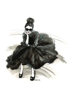 London Chic by Shannon Sutton, via Behance