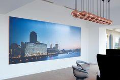 Sea Containers. Rebranding a London landmark. Exhibition - dn&co.