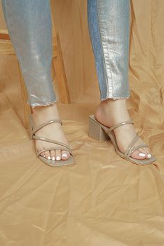 albie Visayas, Day And Time, Taupe, Peep Toe, Sandals, Heels, Fashion, Beige, Heel
