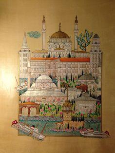 """Üsküdar'ı yaşamak 2015 Kültür Bakanlığı 18. Devlet Türk Süsleme Sanatları Yarışması """"Sergileme Ödülü"""""""